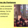 Concert en l'Église Notre-Dame de Fontenay