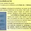 Conférence médicale de La Roche sur Yon