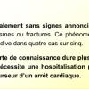 Le malaise cardiaque