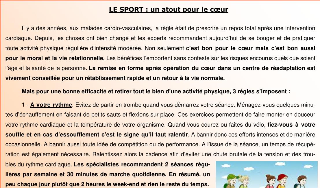 Le sport 1sur3