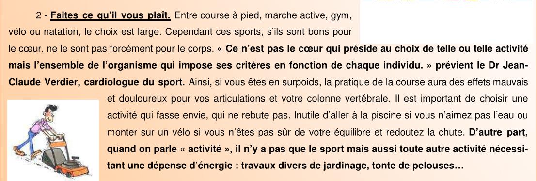 Le sport 2sur3