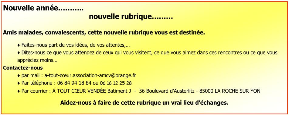 Nouvelle Rubrique