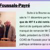 Remise de chèque à Foussais-Payré