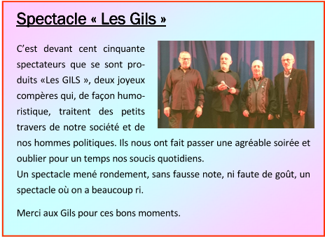Spectacle Les Gils