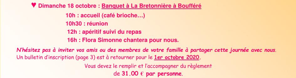 Banquet a la bretonniere de montaigu vendee